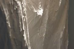 Fragility. Paper, plaster, bamboo. 2014.